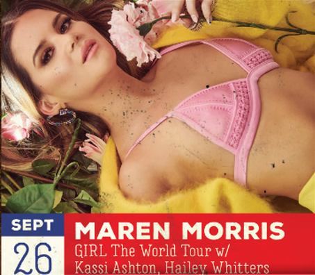 Maren Morris at the Big Country Bash