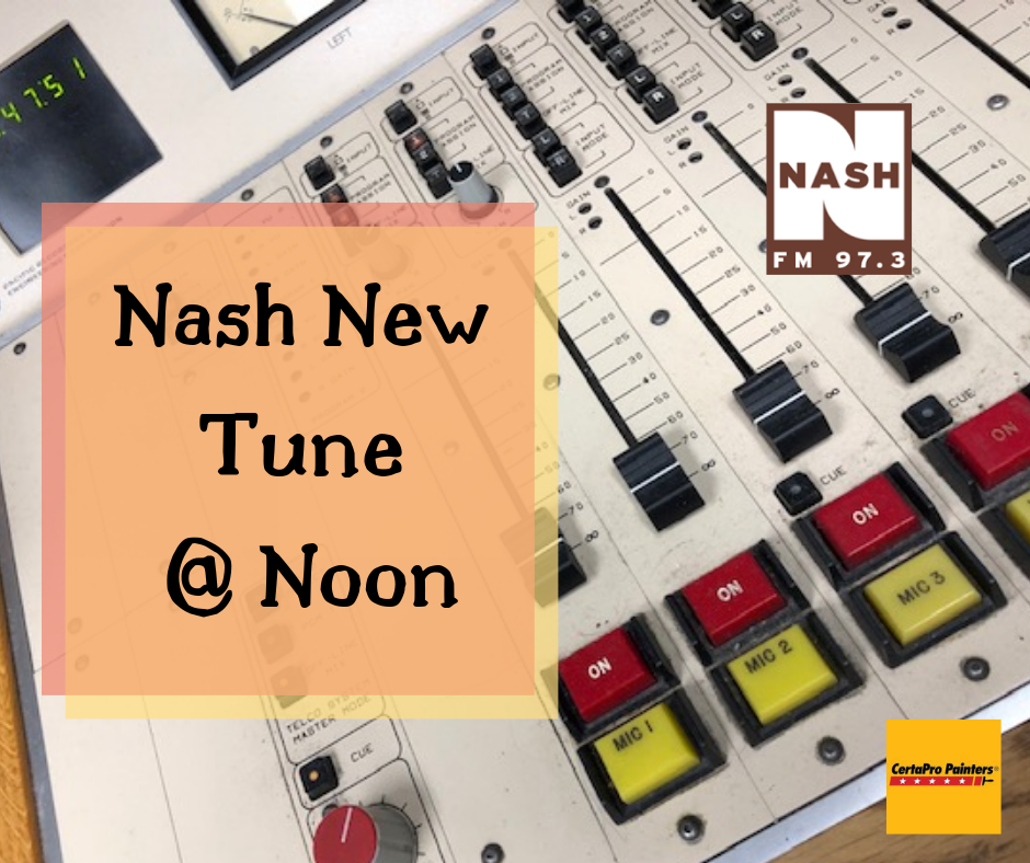 "Nash New Tune At Noon 8-15-19  –  Jon Langston ""Now You Know"""