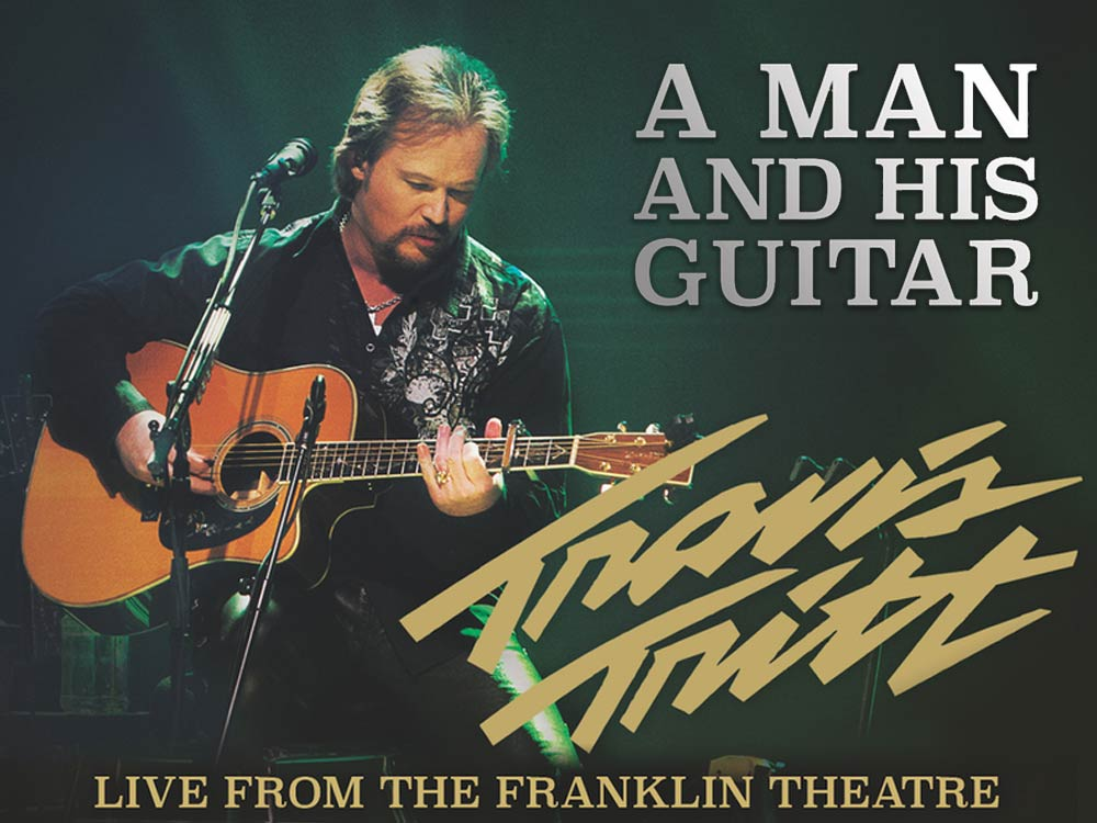 Here's a Quarter, We Care: Travis Tritt Set to Release Double-Disc Live Album on Nov. 18