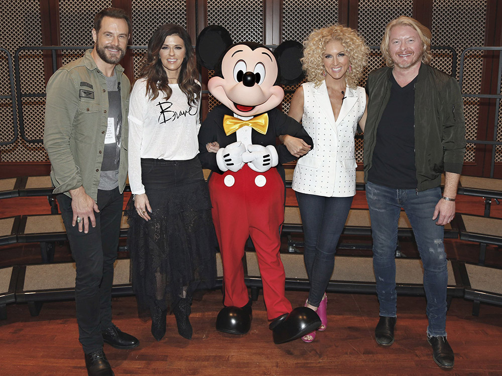 """Little Big Town Goes to Disney Resort to Kick Off Music in Our Schools Program—""""Music Education Is a Right of Every Student,"""" Says Karen Fairchild"""