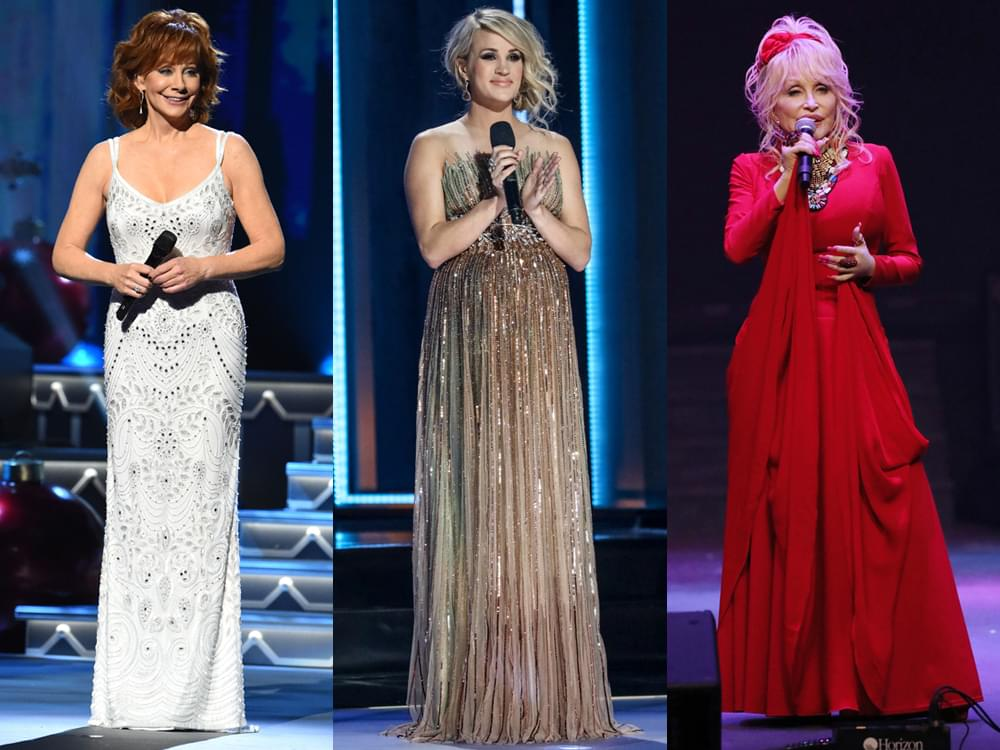 Carrie Underwood to Host the CMA Awards With Special Guests Reba McEntire & Dolly Parton