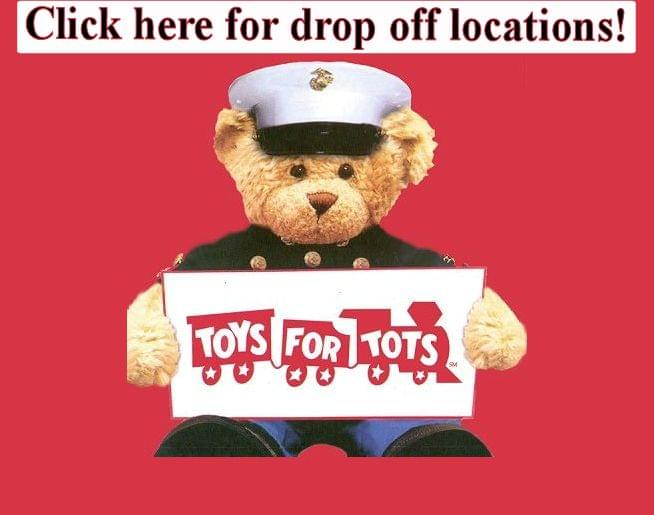 Join us in supporting the 2018 Marine Corps Reserve Toys for Tots program!