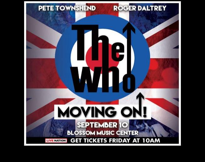 Pre-Sale link for The Who @ Blossom Music Center, September 10!