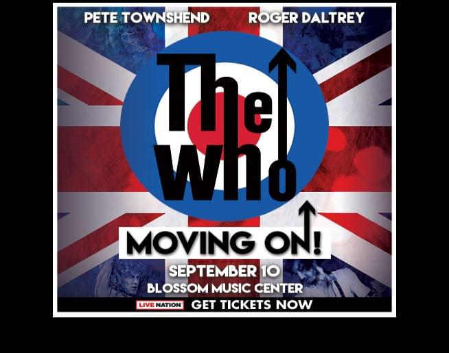 Don't Miss The Who – Blossom Music Center, September 10!