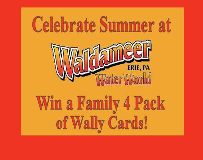 Win a Family 4 pack of Waldameer Wally Cards 2019!