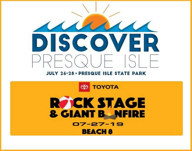 Discover Presque Isle 2019 – July 26 – 28, at Presque Isle State Park!