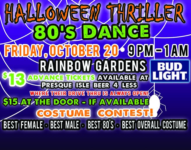 halloween thriller 80s dance 2017 - Bob And Tom Halloween Songs