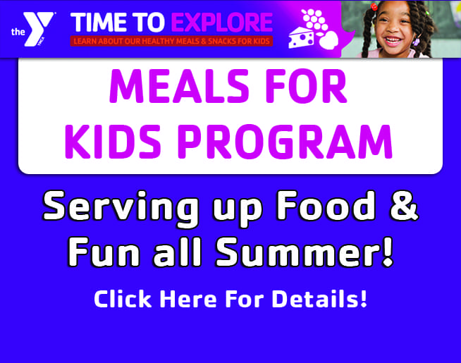 YMCA MEALS FOR KIDS PROGRAM & FOOD + FUN BUS!