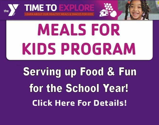 YMCA's Meals for Kids Program!