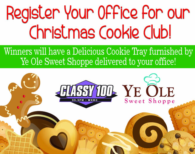 Join our Christmas Cookie Club!