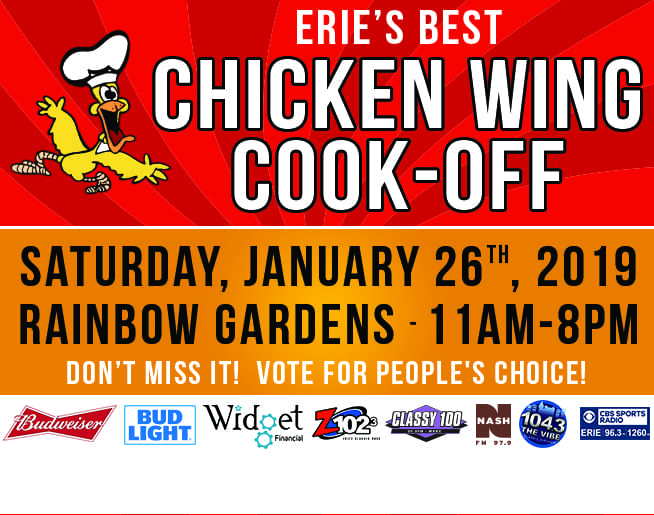 Erie's Best Wings 2019!