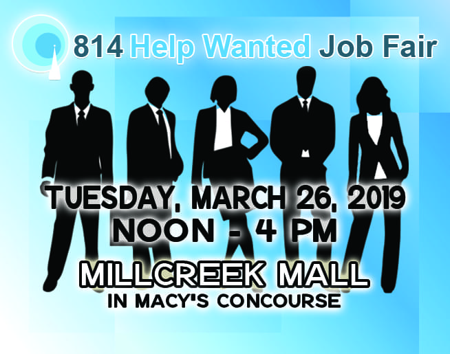 814 Job Fair – March 26, at Millcreek Mall!