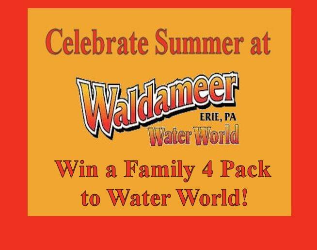 WIN 4 TICKETS TO WATER WORLD!