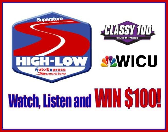 Watch, Listen and WIN with Superstore High – Low!