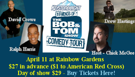 Keystone Light Bob & Tom Show Comedy Tour