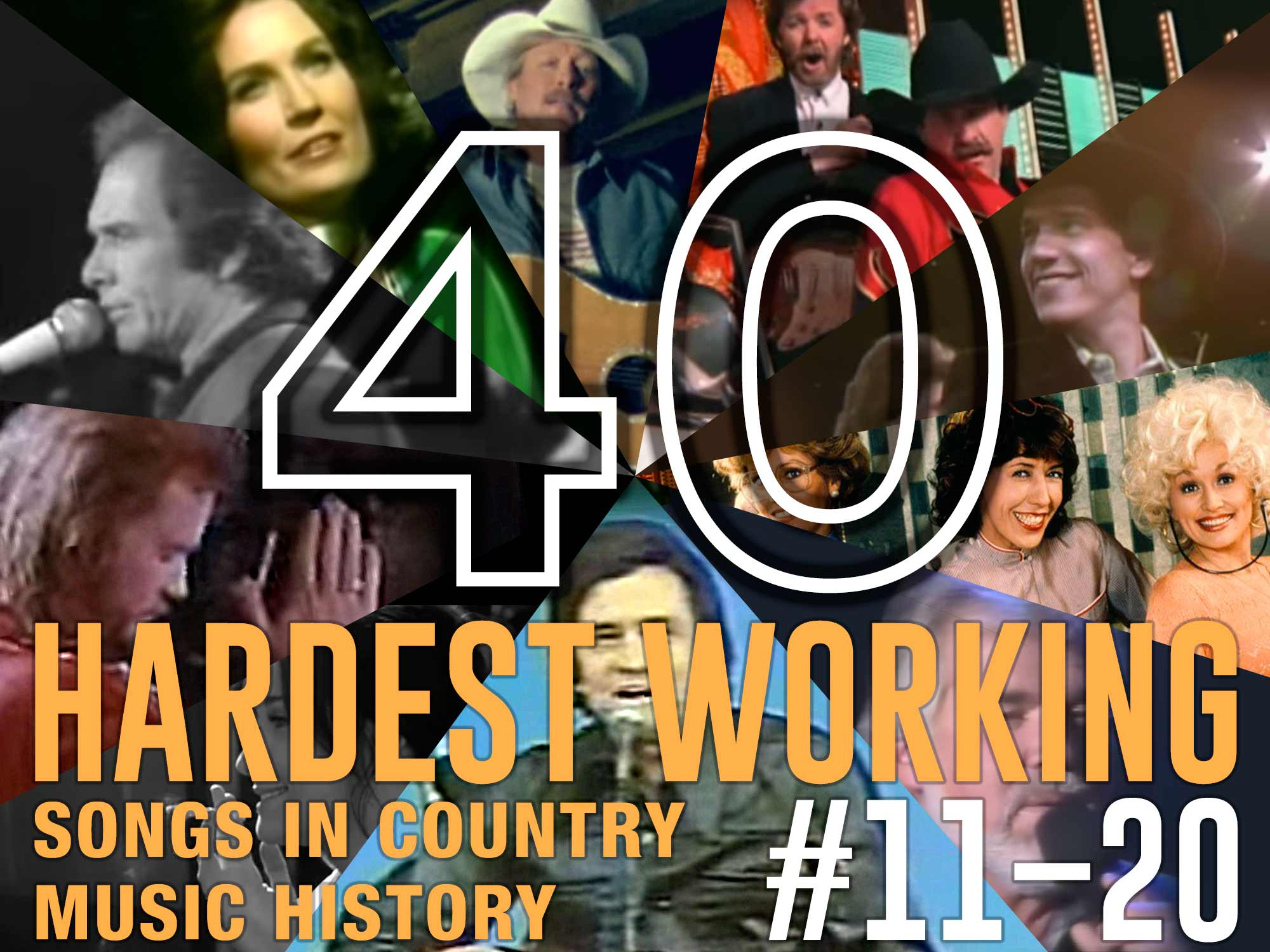 In Honor of Labor Day, the 40 Hardest Working Songs in Country Music History: #11–20
