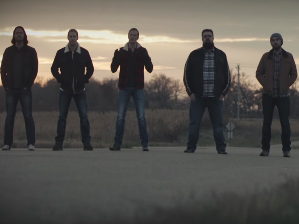 cold frontin watch home free cover zac brown band s colder