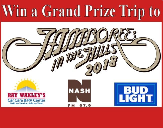 "Win a Trip to ""Jamboree in the Hills"" 2018!"