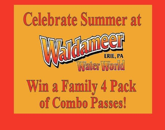 Win a 4 Pack of Waldameer Combo Passes on NASH FM 97 9!