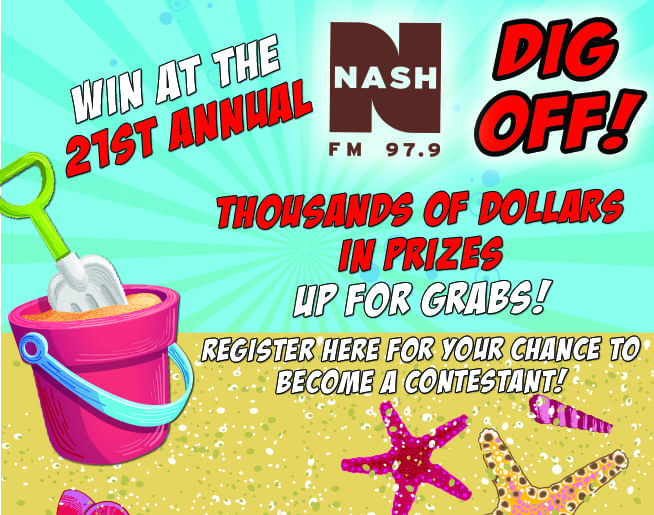 NASH FM 97 9 is kicking off DPI with the 21st Annual Dig Off!