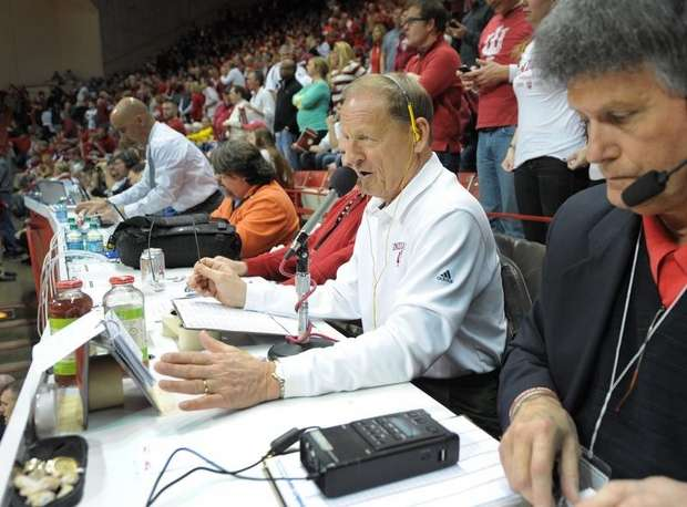 You Know The Voice, Meet the Man Behind The Mic for IU Sports…the Legendary Don Fischer!