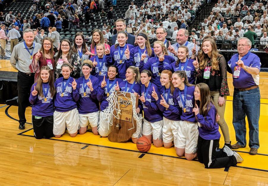 Congratulations to the Class 3A State Champion Northwestern Lady Tigers!!