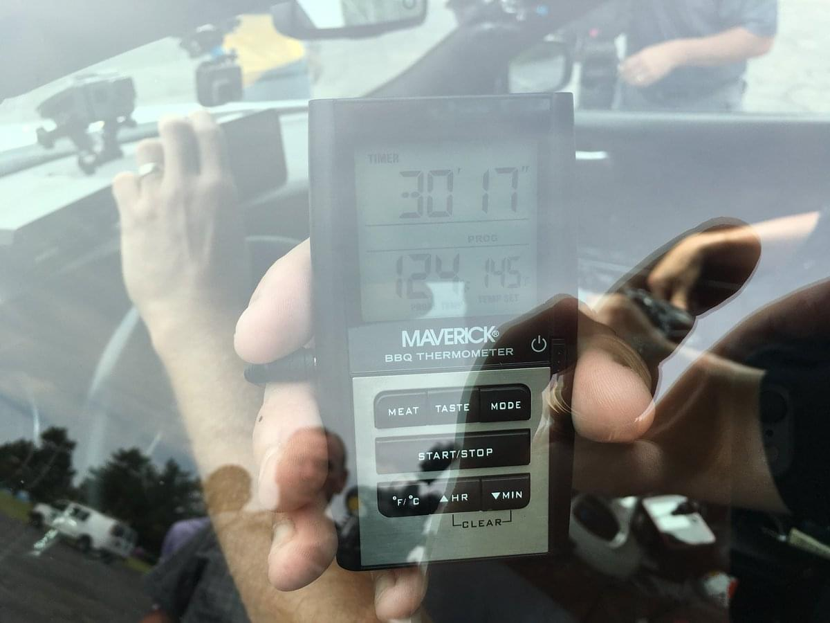 Indiana State Police Demonstrate How Quickly a Hot Car Becomes Deadly