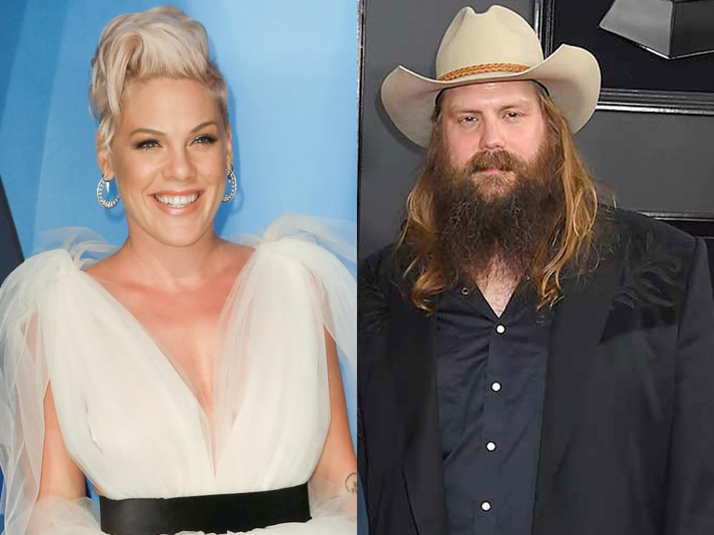 "Listen to Pink's Heavy-Hearted New Song, ""Love Me Anyway,"" Featuring Chris Stapleton"