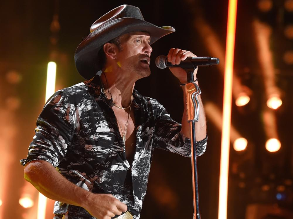 """One Constant in Tim McGraw's 26-Year Music Career? His Longtime Producer and """"Best Friend"""""""