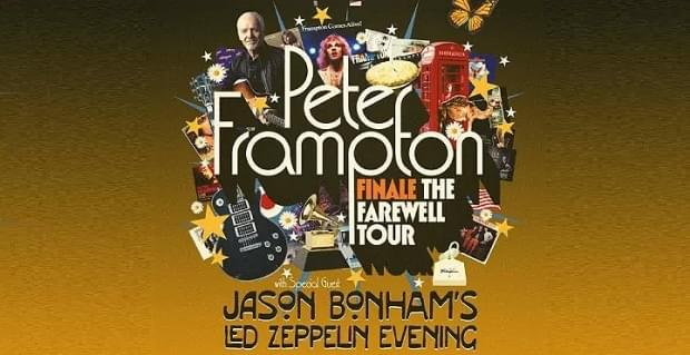 Enter to Win Tickets to Peter Frampton!