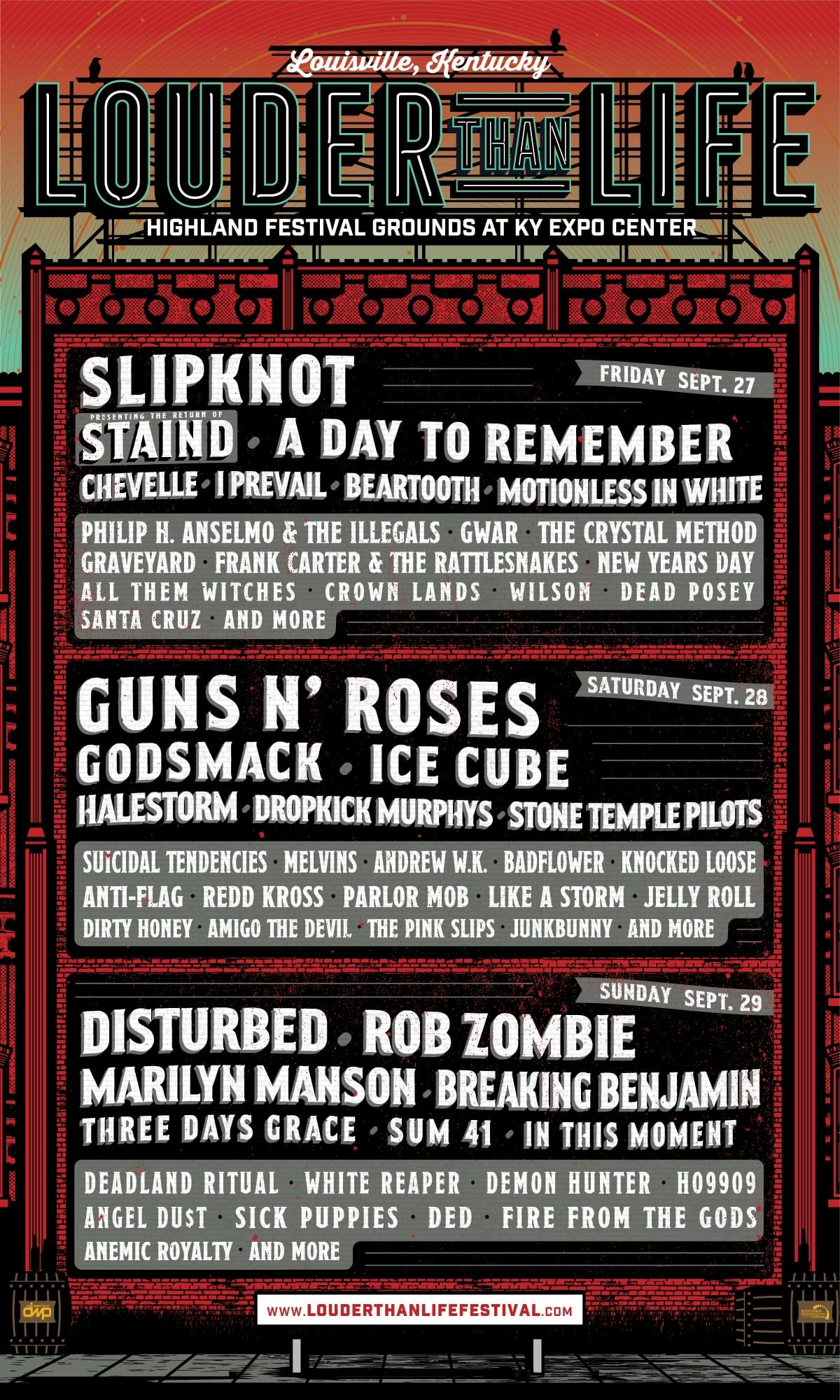 Enter to Win Louder Than Life Festival Tickets