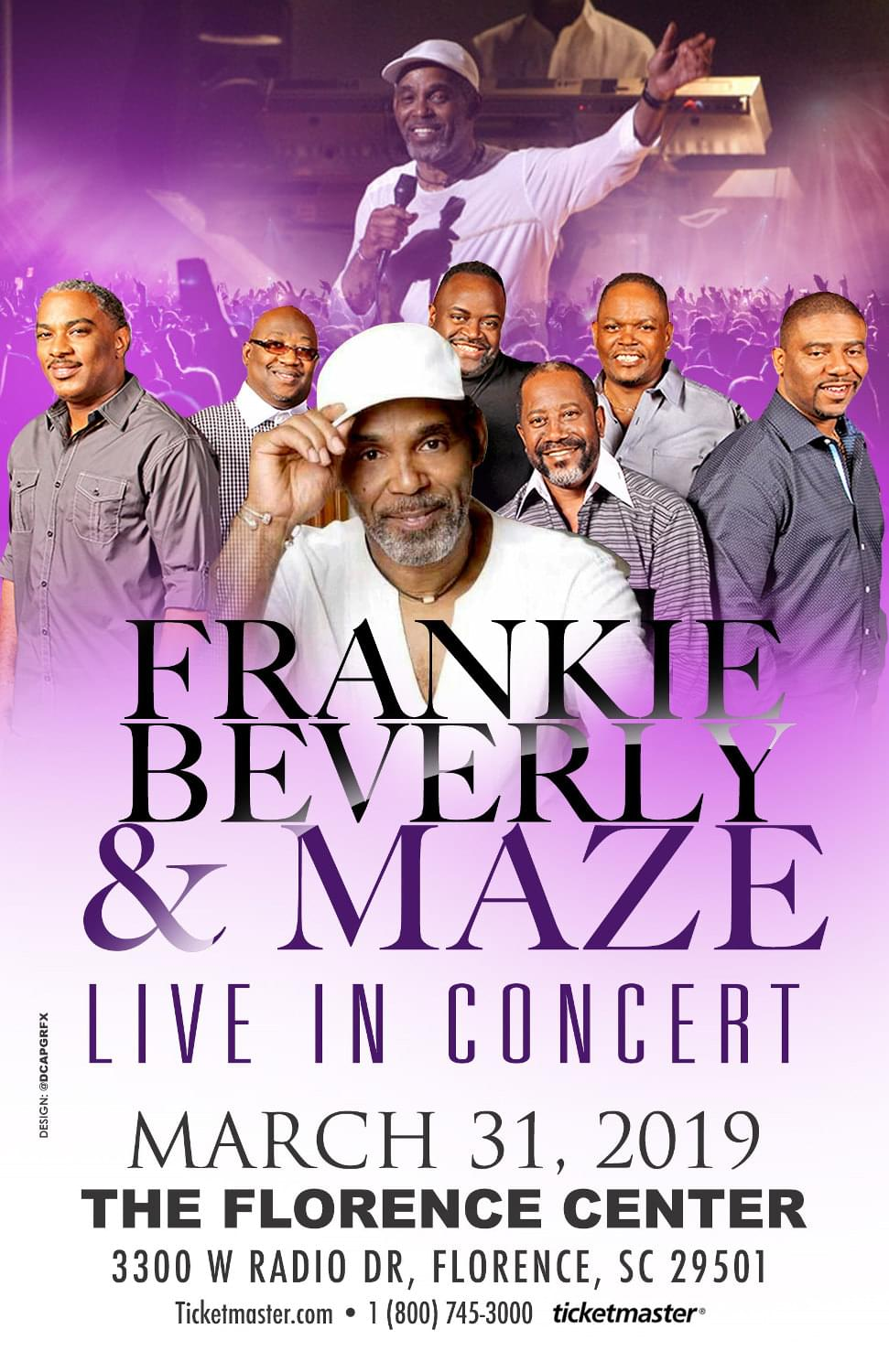Frankie Beverly & Maze — Ticket Giveaway