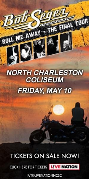 Bob Seger — North Charleston Coliseum (Tickets on Sale NOW)