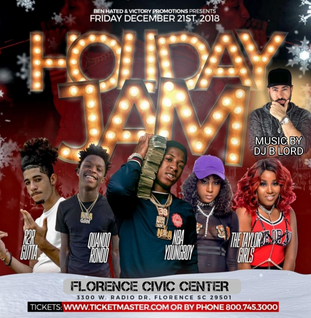 Holiday Jam w/NBA Youngboy at the Florence Center