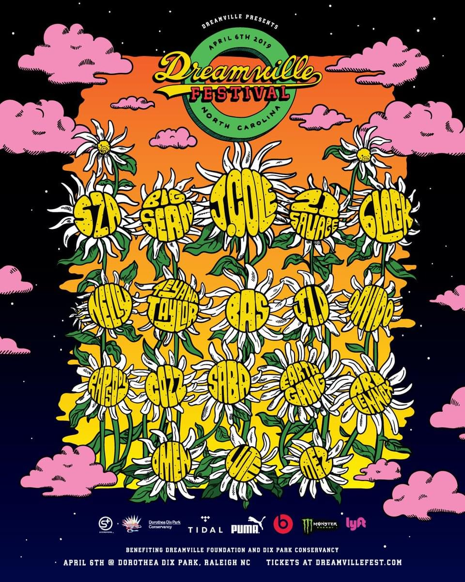 Dreamville Music Festival — Raleigh, North Carolina (April 6th)