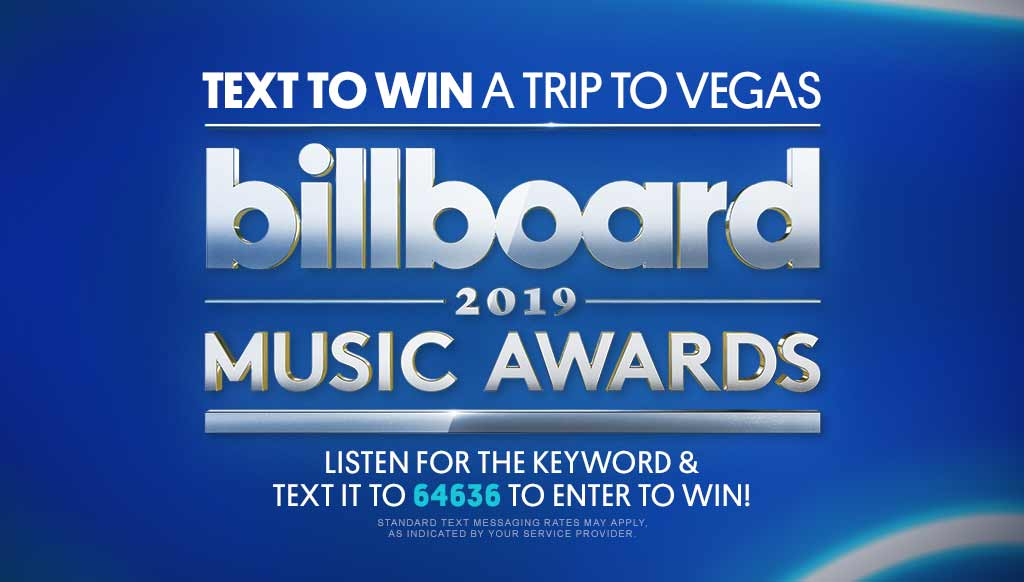 Win a trip to the 2019 BBMAs