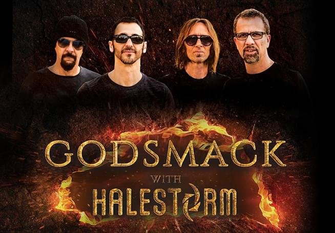 GODSMACK and HALESTORM @ Pensacola Bay Center