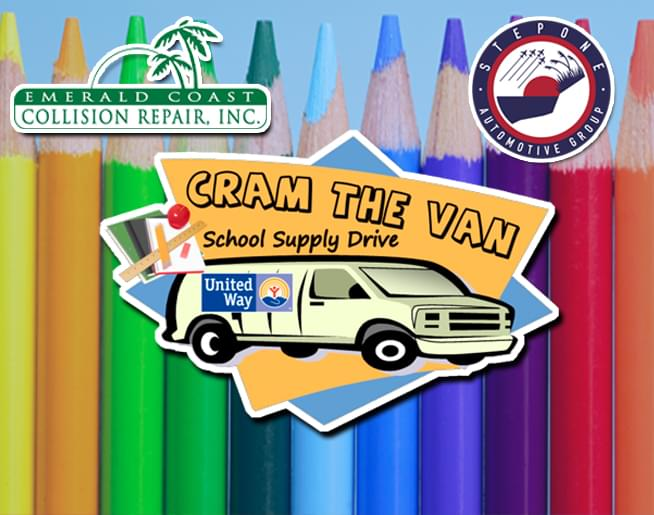 Cram The Van School Supply Drive
