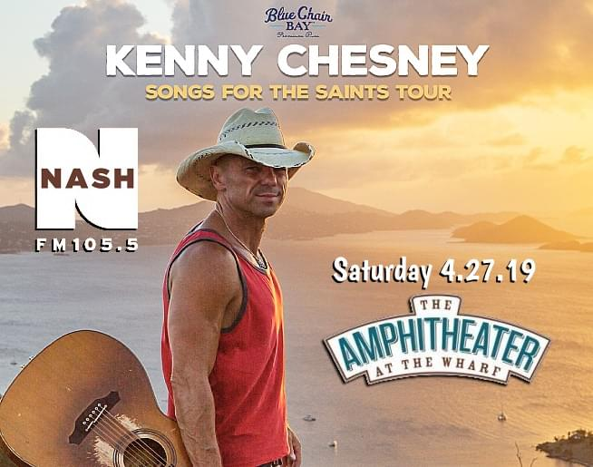 Win Tickets For Kenny Chesney!