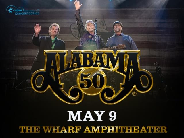 Alabama 50th Anniversary Tour @ The Wharf