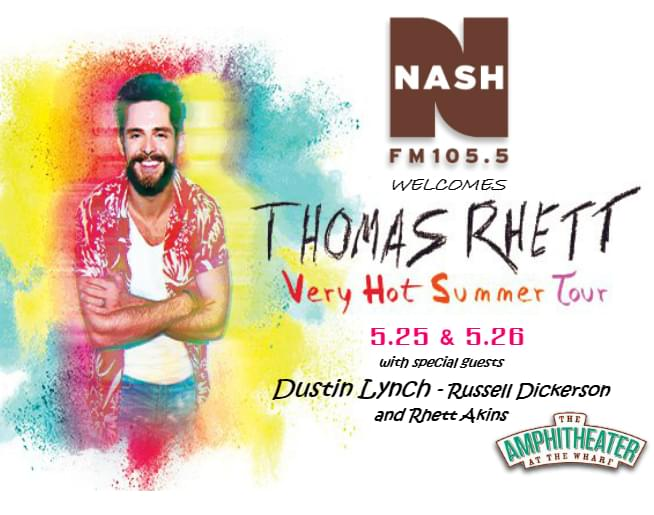 Thomas Rhett @ The Wharf