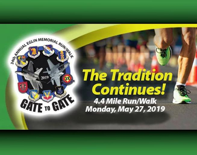 34th Annual Eglin Memorial Day Gate-To-Gate Run