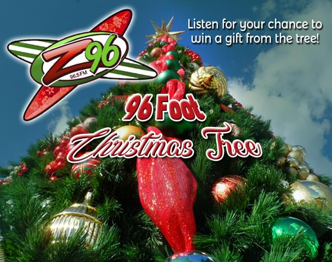 The 96-Foot Christmas Tree | WZNS-FM