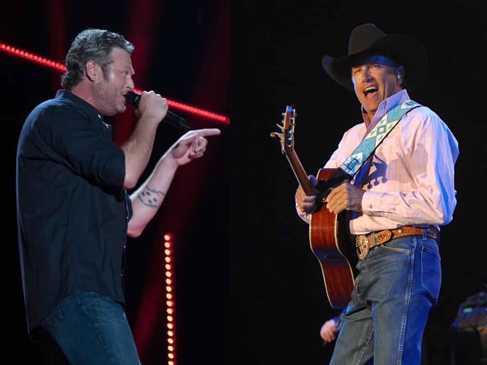 Blake Shelton Ties George Strait & Alan Jackson With 26th No. 1 on Billboard Country Airplay Chart