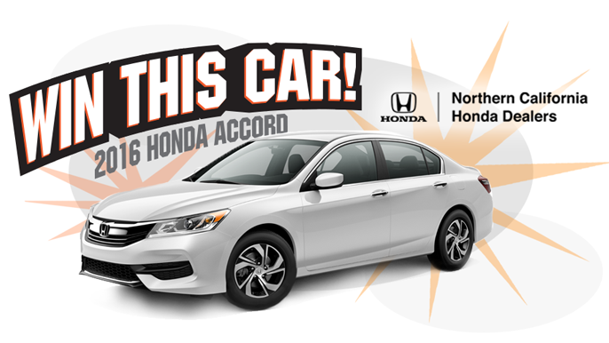 "KNBR ""2016 Northern California Honda Dealers Car Giveaway"""