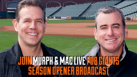 "KNBR'S ""Muprh & Mac Season Opener Live Broadcast"" Contest Official Rules"
