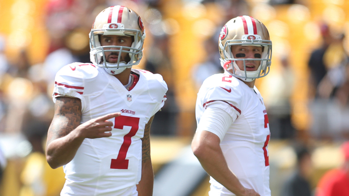 Radnich: 49ers should turn to Kap if Gabbert doesn't improve vs. Dallas