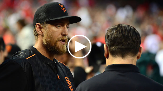 Krueger: Giants exploring options with Hunter Pence sidelined