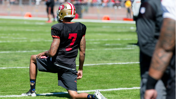 Brooks: Kap's sock choice distracts from important message
