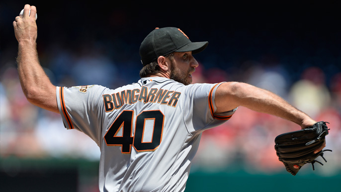 Giants waste Bumgarner's brilliance in 1-0 loss